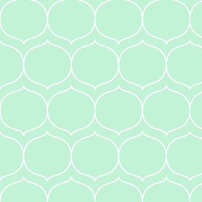 sugarplum ice mint green