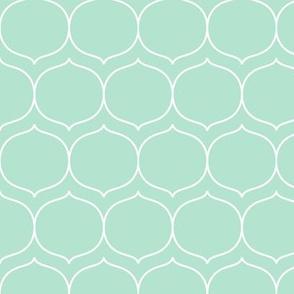 sugarplum mint green