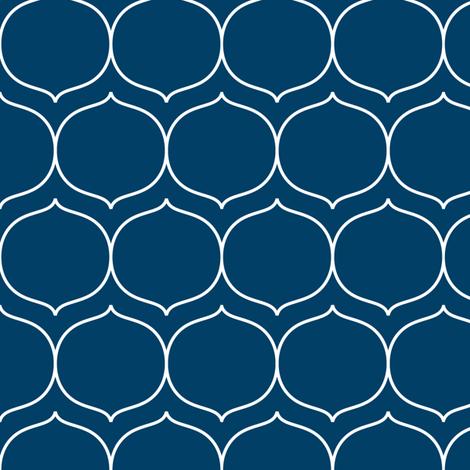 sugarplum navy blue fabric by misstiina on Spoonflower - custom fabric