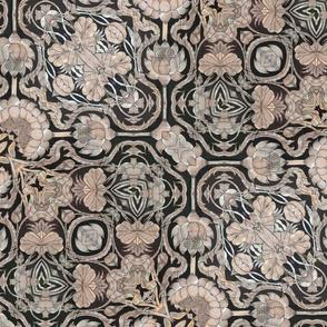 metallic floral 2