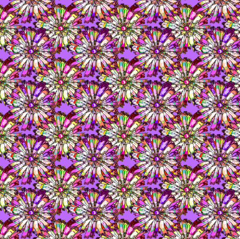 JOYFUL NOT DOTTY Mauve Small fabric by paysmage on Spoonflower - custom fabric