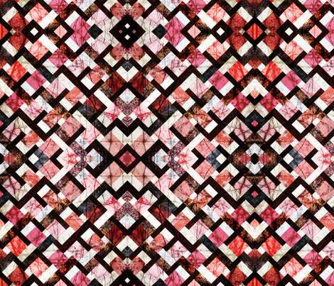 Kaleidoscope_4-ver_1 fabric by lulutigs on Spoonflower - custom fabric