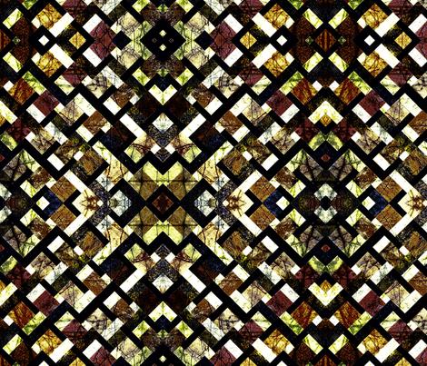 Kaleidoscope_4-ver 2 fabric by lulutigs on Spoonflower - custom fabric