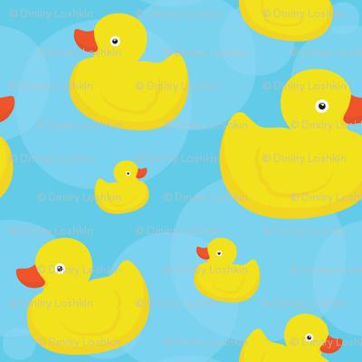 Rubber duck (blue)