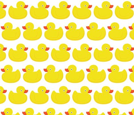 Ducks ducks ducks fabric by dmitriylo on Spoonflower - custom fabric