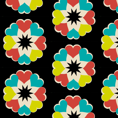 Ukrainian Flowers fabric by boris_thumbkin on Spoonflower - custom fabric
