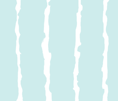 Turquoise Broken Stripes fabric by likesjewellery on Spoonflower - custom fabric
