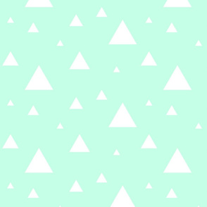 White Triangles on Mint