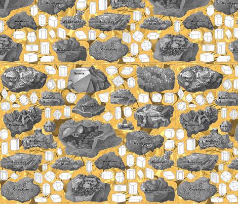 rocks2 fabric by craftyscientists on Spoonflower - custom fabric