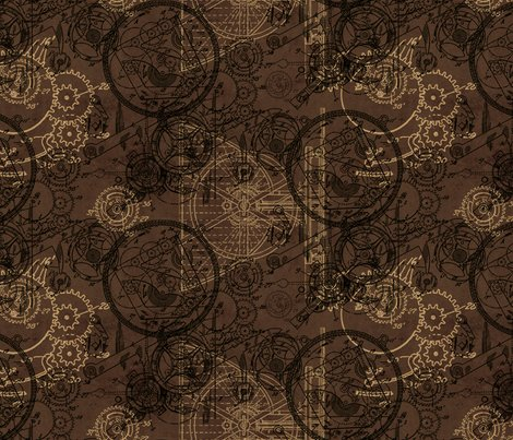 Clockwork-collage-repeat_brown_shop_preview
