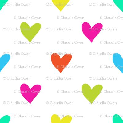Love Hearts multicolor