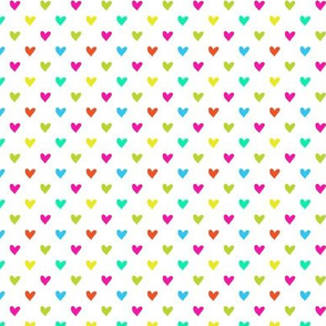 Love Hearts multicolor