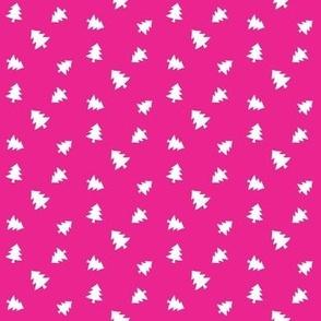 Neon Pink Trees