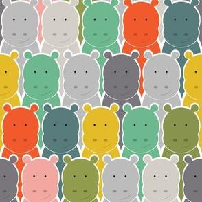 Hippo Lineup - Retro