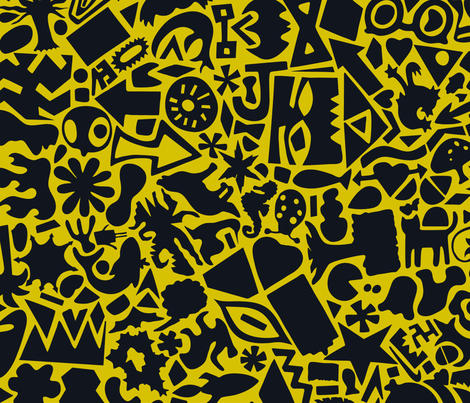 The Intersections Project: Reynolds HS fabric by secca on Spoonflower - custom fabric