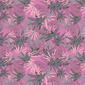 420 Leaf Pink Gray
