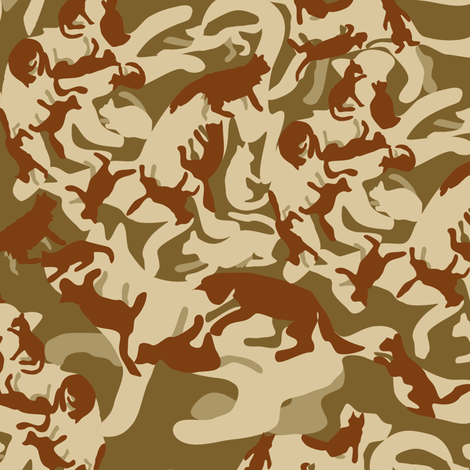 Catmewflage  fabric by eclectic_house on Spoonflower - custom fabric