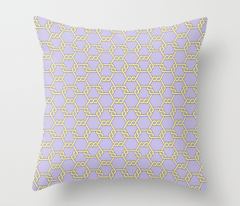 Pastel Yellow-Purple Freeman Lattice