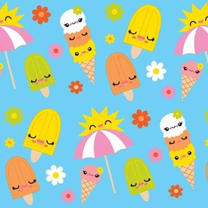 Summertime Kawaii Popsicles
