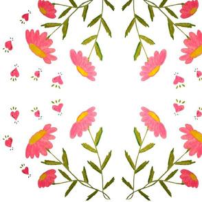 Summer Pink Daisy