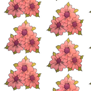 Strawberry Florals