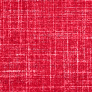 Linen in Watermelon Red