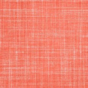 Linen in Persimmon