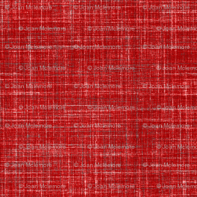 Linen in Dark Watermelon Red