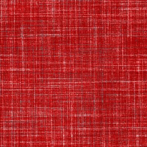 Linen in Dark Watermelon Red fabric by joanmclemore on Spoonflower - custom fabric