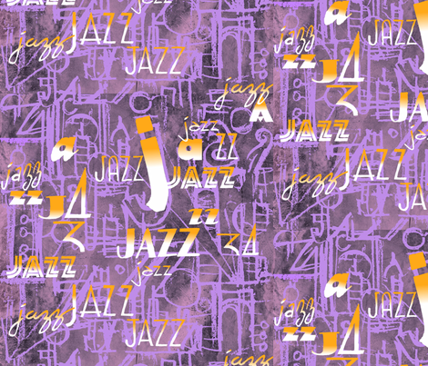 jazzgrey fabric by theinklab on Spoonflower - custom fabric