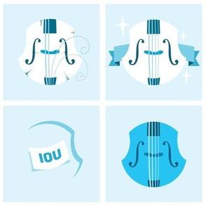 Old, New, Borrowed, Blue Violin