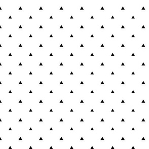 Tiny Triangles - White Background