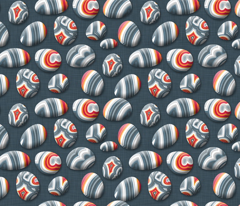 Agate Pebble fabric by spellstone on Spoonflower - custom fabric