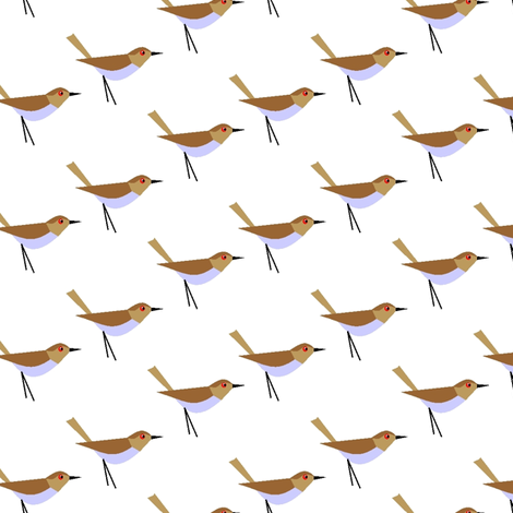 Ornithology fabric by moirarae on Spoonflower - custom fabric