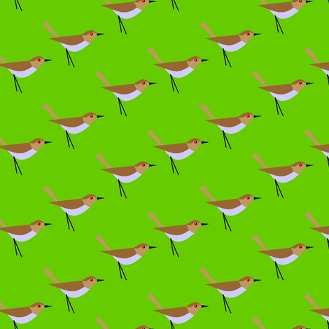 Bird get the worm fabric by moirarae on Spoonflower - custom fabric