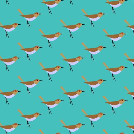 Bird feathers fabric by moirarae on Spoonflower - custom fabric