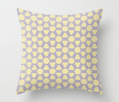 Pastel Purple-Yellow Freeman Lattice
