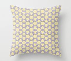 Pastel Purple-Yellow Freeman Lattice