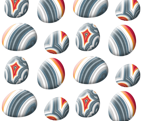 Big Agate Pebble fabric by spellstone on Spoonflower - custom fabric