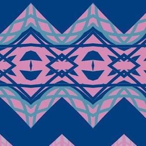 Blue Horizontals