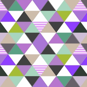 Cheater Quilt Lavender