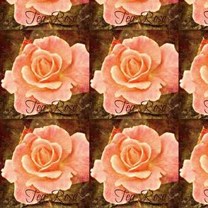 Vintage Tea Rose-ed