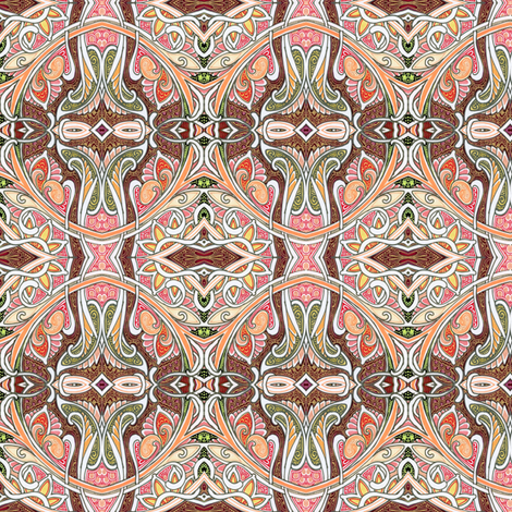 Back When We Were Flappers fabric by edsel2084 on Spoonflower - custom fabric