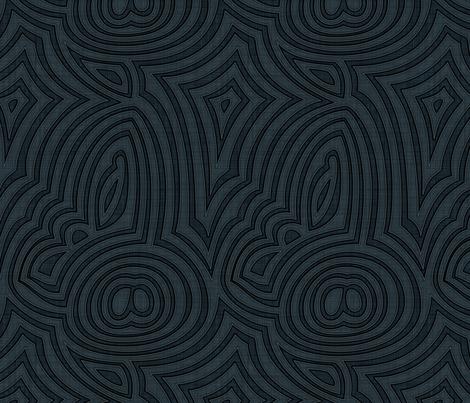 Onyx fabric by spellstone on Spoonflower - custom fabric