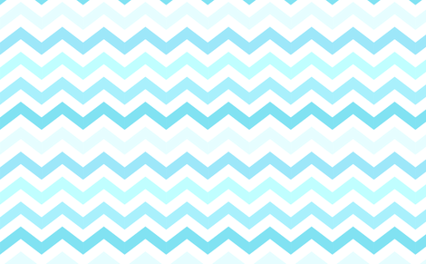 Ombre Blue Chevron fabric by kq1225 on Spoonflower - custom fabric
