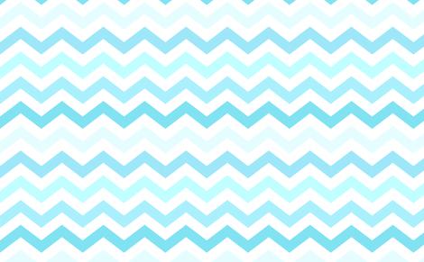 Ombre blue chevron wallpaper kq1225 spoonflower for Blue chevron wallpaper