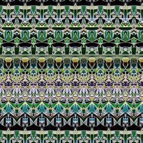 mosaic stripes