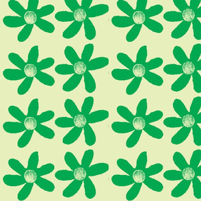 large green flowers onpale green background-ch-ch