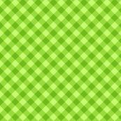 Green cross check pattern