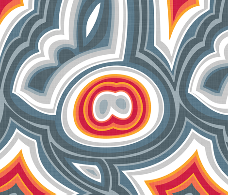 Agate fabric by spellstone on Spoonflower - custom fabric